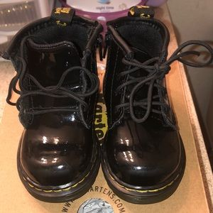 Patent leather Dr. Martens
